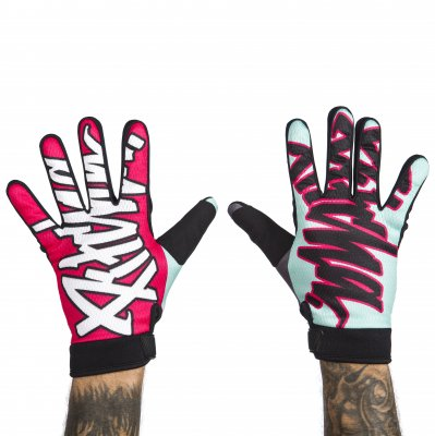 rukavice Pitcha Team gloves blue/pink
