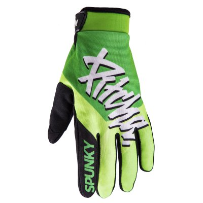 rukavice Pitcha Team gloves fluo green