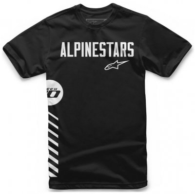 Triko Alpinestars Wordly tee black