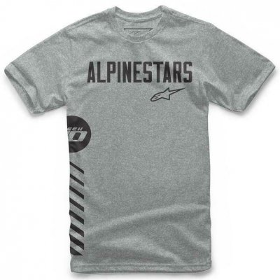 Triko Alpinestars Wordly tee grey