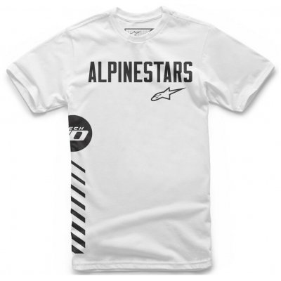Triko Alpinestars Wordly tee white