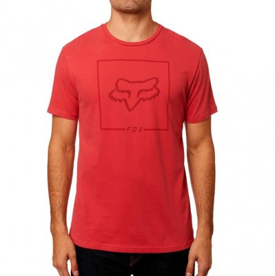 triko Fox Chapped Airline Tee rio red