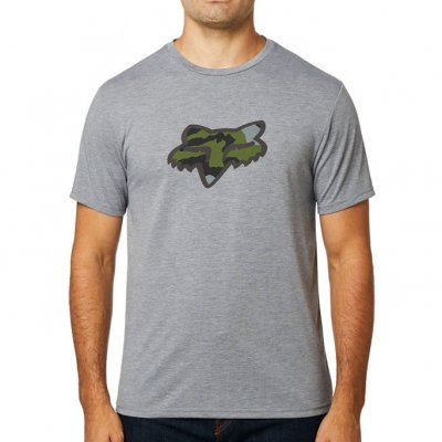 Triko Fox Predator Tech tee heather g...