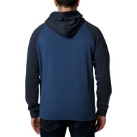 Mikina Fox Drifter Pullover Fleece light indigo