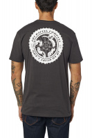 Triko Fox Tread On Ss Premium Tee Black Vintage