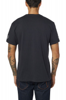 Triko Fox End Of The Line Ss Tee Black