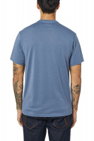 Triko Fox Brake Check Ss Tech Tee Blue Steel